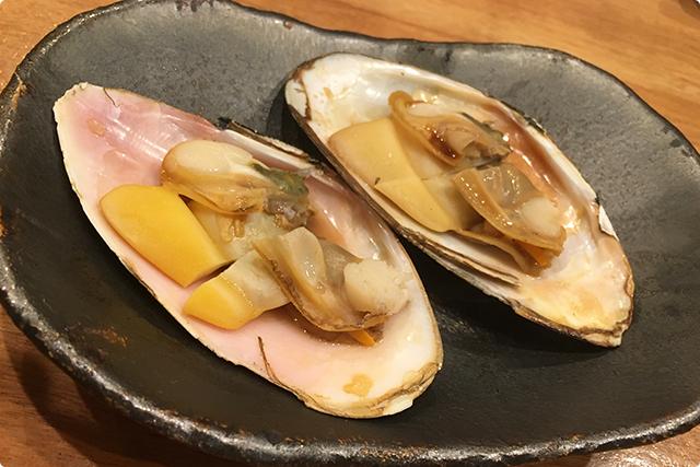 北海道の白貝!身はもちろん、殻に残ったお出汁まで最高に美味しいでしす!