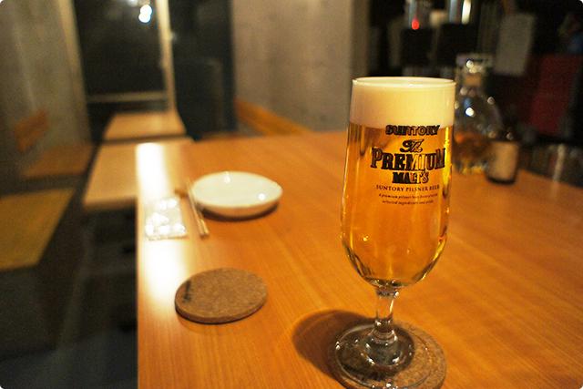 こんな感じでビールがとっても合うお料理のお店ですよ