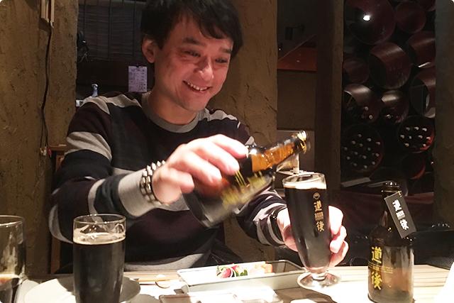 ビールです笑