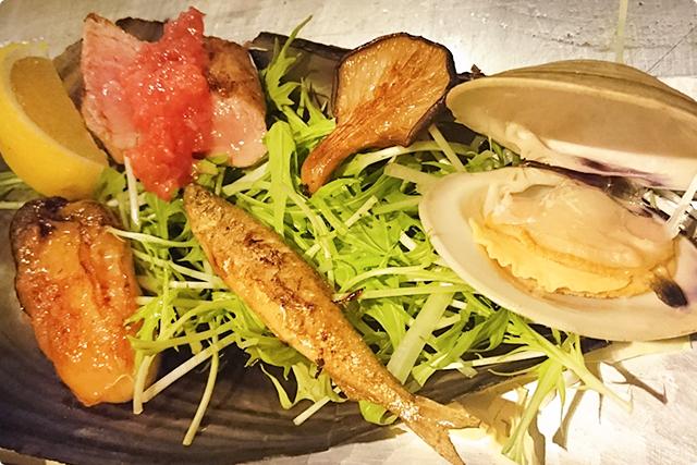 『Seafood plate』
