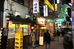 【GIFUYA】Chinese pub in Omoide-yokocho! (Shinjuku, Tokyo!!!)
