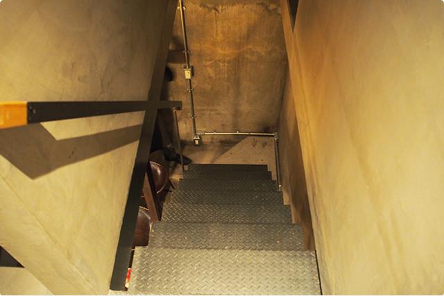 階段があって~