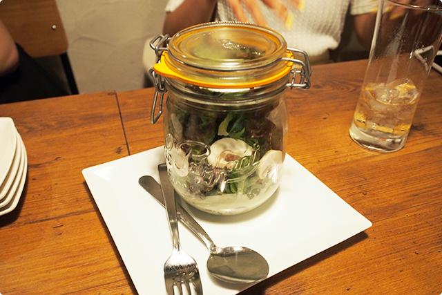 『Jar salad –mashroom-』