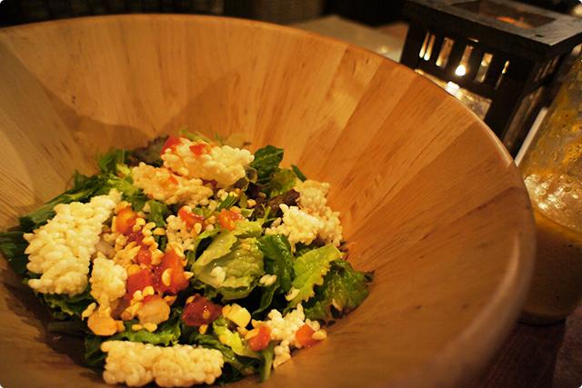 『Bali lax salad』