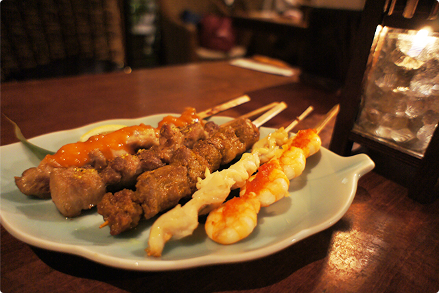 『Sate chample』