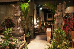 【Bali lax the garden】Relaxing Bali resort restaurant in Tokyo! (Shinjuku)