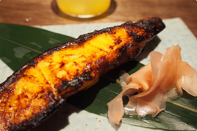 Saikyo grilled Japanese boarfish