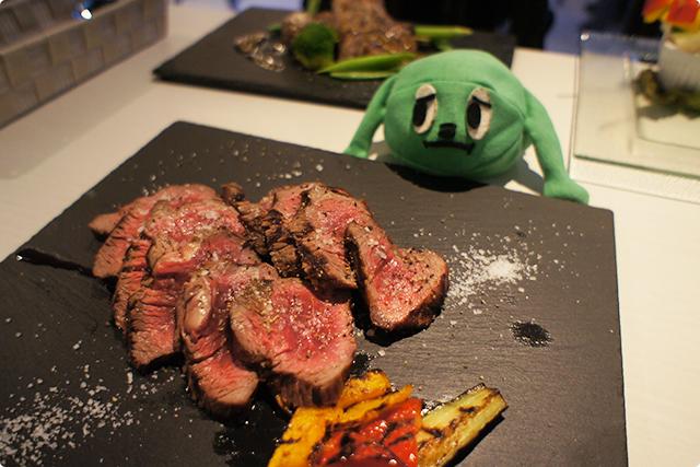 『BBQ ランプ肉のグリル』