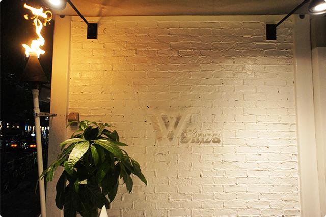 「W ginza」さん。ごちそうさまでした。