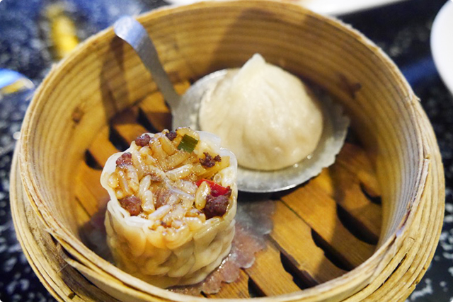 そして、『上海小籠包と旬の蒸し點心』。