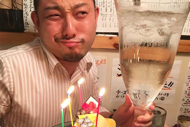 誕生日当日の海老蔵でございます。。