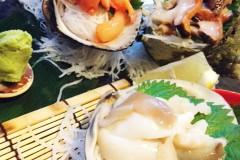 【Kai to Sakana to Robata no Bambi】Hidden seafood cuisine with many surprises in Tokyo! (Kitasenju)