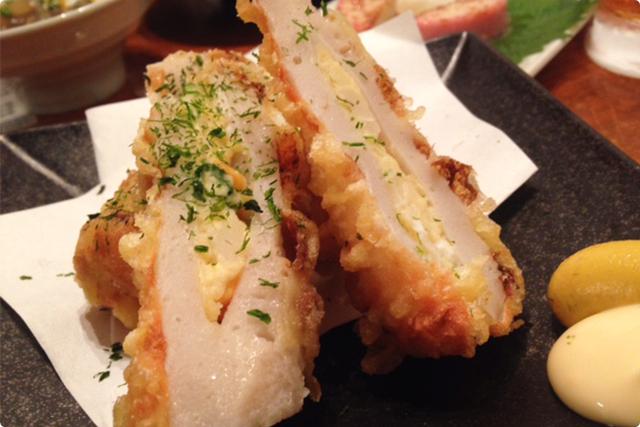 『竹輪サラダ』!