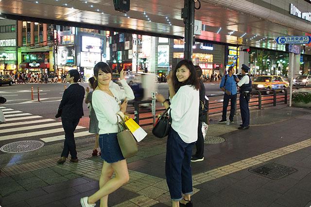 Good night! (at Roppongi crossing)