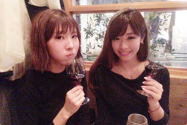 最後は赤ワイン~