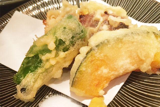 揚げ物:『角煮の天ぷら』