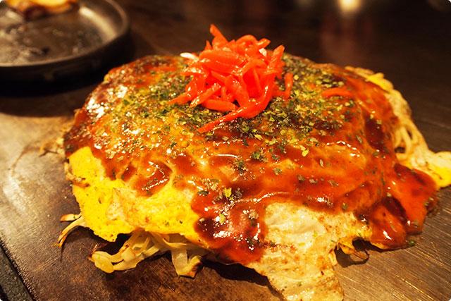 """Imari style Hiroshima Okonomiyaki"" Looks too good….."