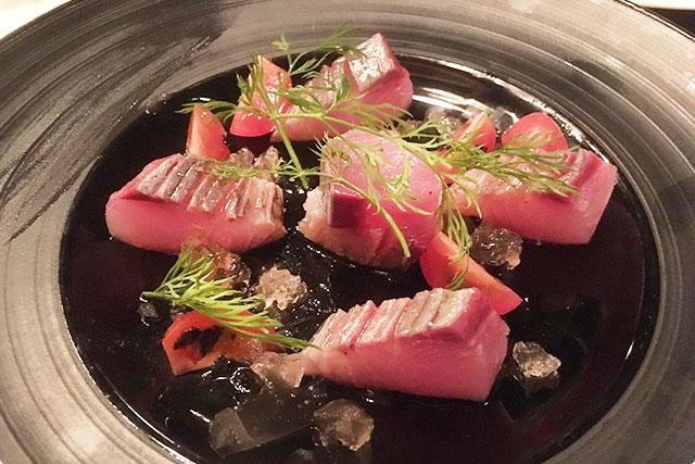 『鮮魚のカルパッチョ』