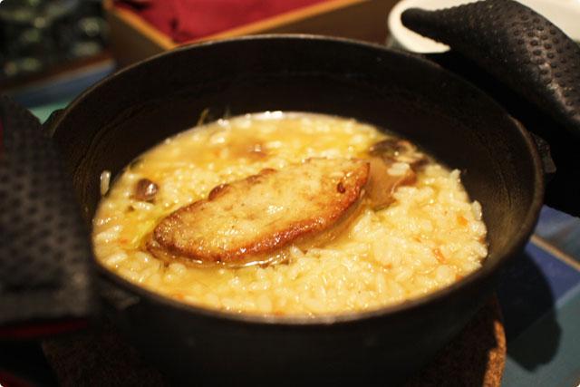 ラストサムライはこちら『フォアグラとポルチーニ茸のカルドソ』