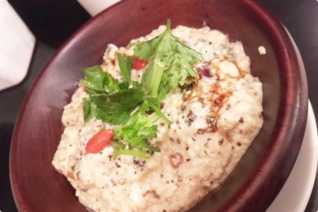 『ピータン豆腐 まぜまぜ台湾式』