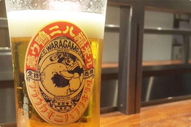 やっぱり『ビール』から!
