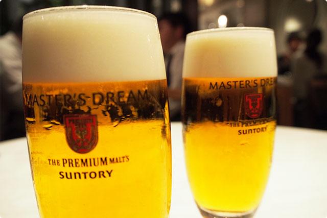 このビール美味い!『MASTER'S DREAM』っていうのね。