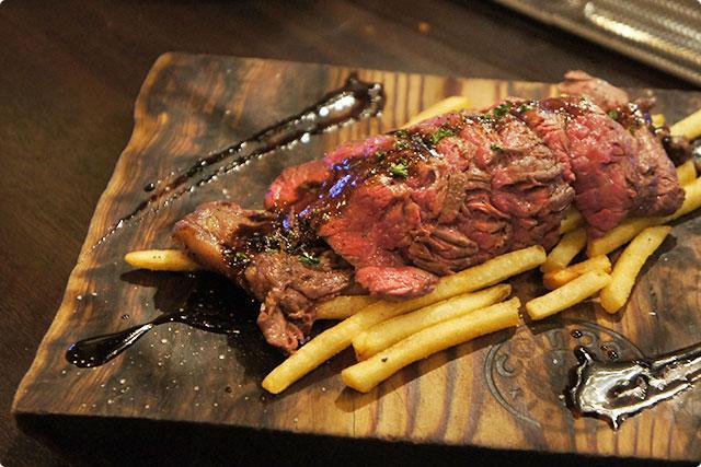 『ハラミステーキ』¥1,200