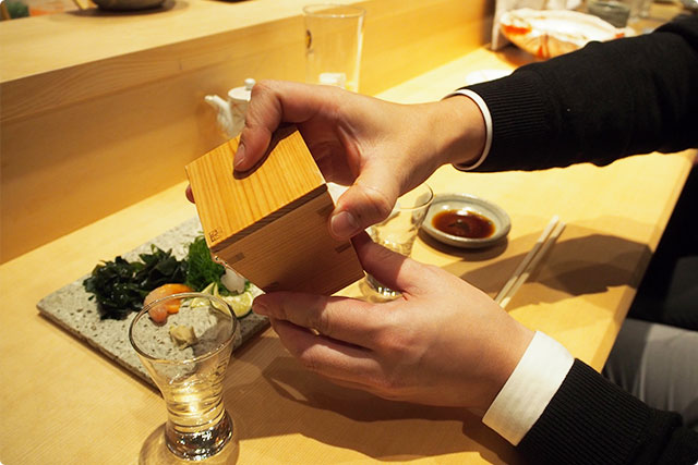 What a cool Sake server!