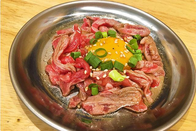 『熟成肉タルタル』¥790