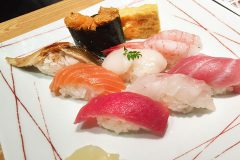 【Tsukiji TAMASUSHI Ikebukuro Sunshine brunch】Sushi and Teppan! in Ikebukuro sunshine building! (Tokyo!!!)