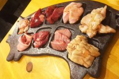 "【Sumibiyaki Horumon MANTEN Nishi-shinjuku brunch】Izakaya specialied in the ""Innards""! (Shinujuku, Tokyo)"
